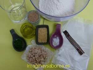 Ingredientes pan
